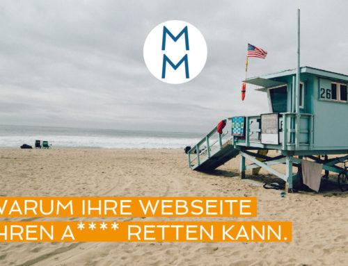 Warum Ihre Webseite Ihren ** retten kann – MarkenMinute