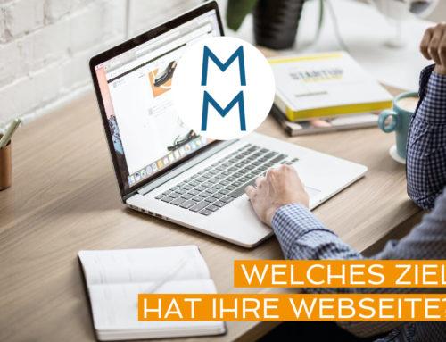 Welches Ziel hat Ihre Webseite?  – MarkenMinute