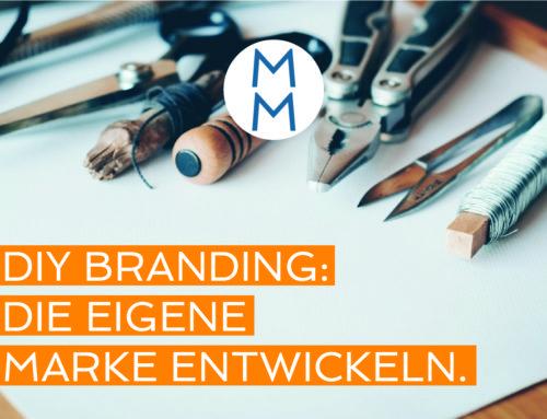 DIY Branding – die eigene Marke entwickeln. Wo soll ich starten? – MarkenMinute