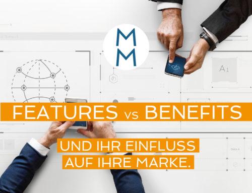 Features vs Benefits – Und der gewaltige Einfluss, den sie auf Ihre Marke haben. – MarkenMinute