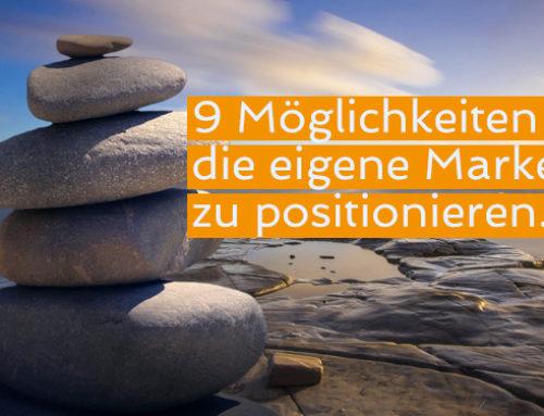 Welche effektiven Positionierungsstrategien gibt es?