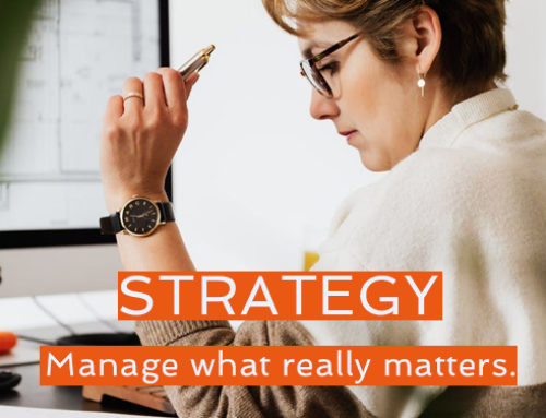Manage what really matters!  – Playing to Win 6